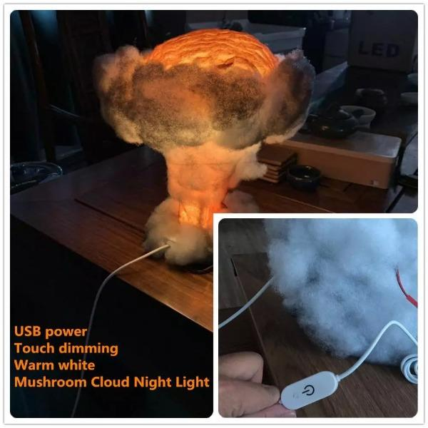 Nuclear Explosion Night Light