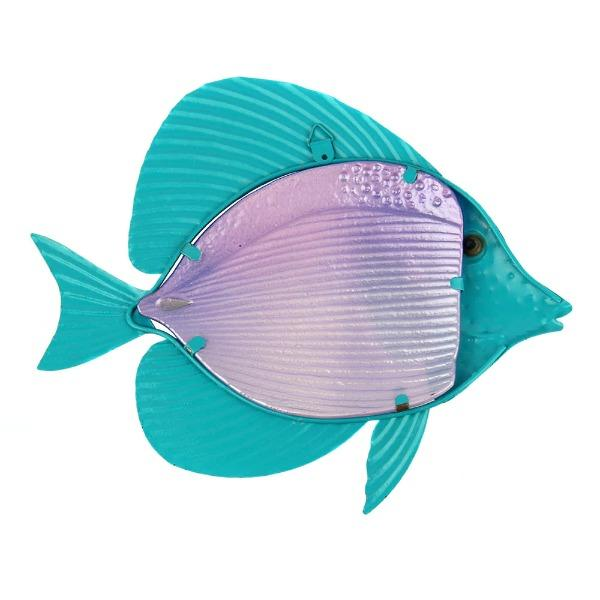 Rainbow Fish Metal Wall Art
