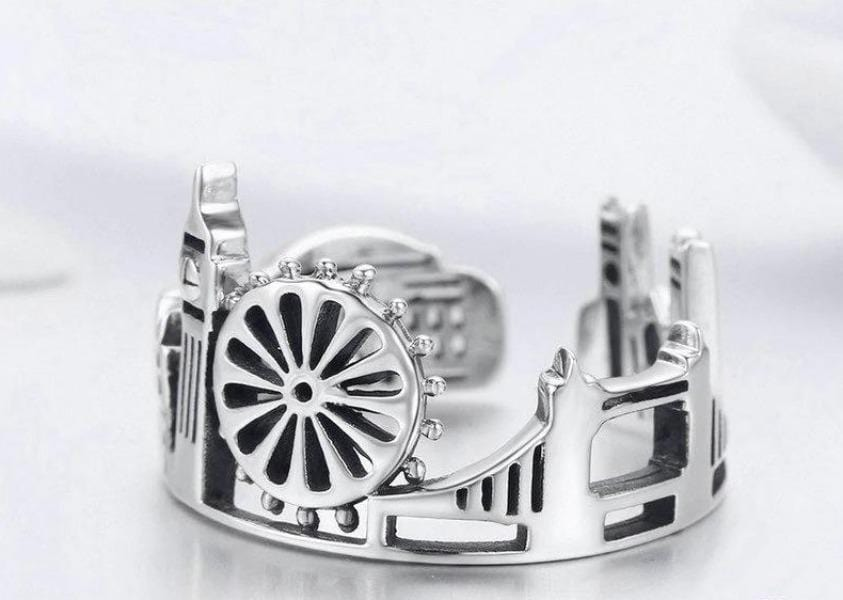 Sterling Silver City of London Ring