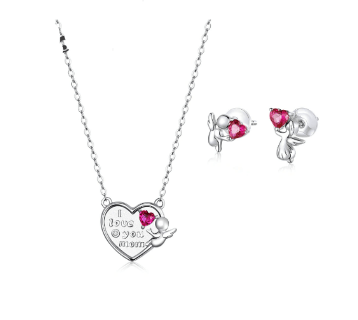 love you Mom jewellery Set