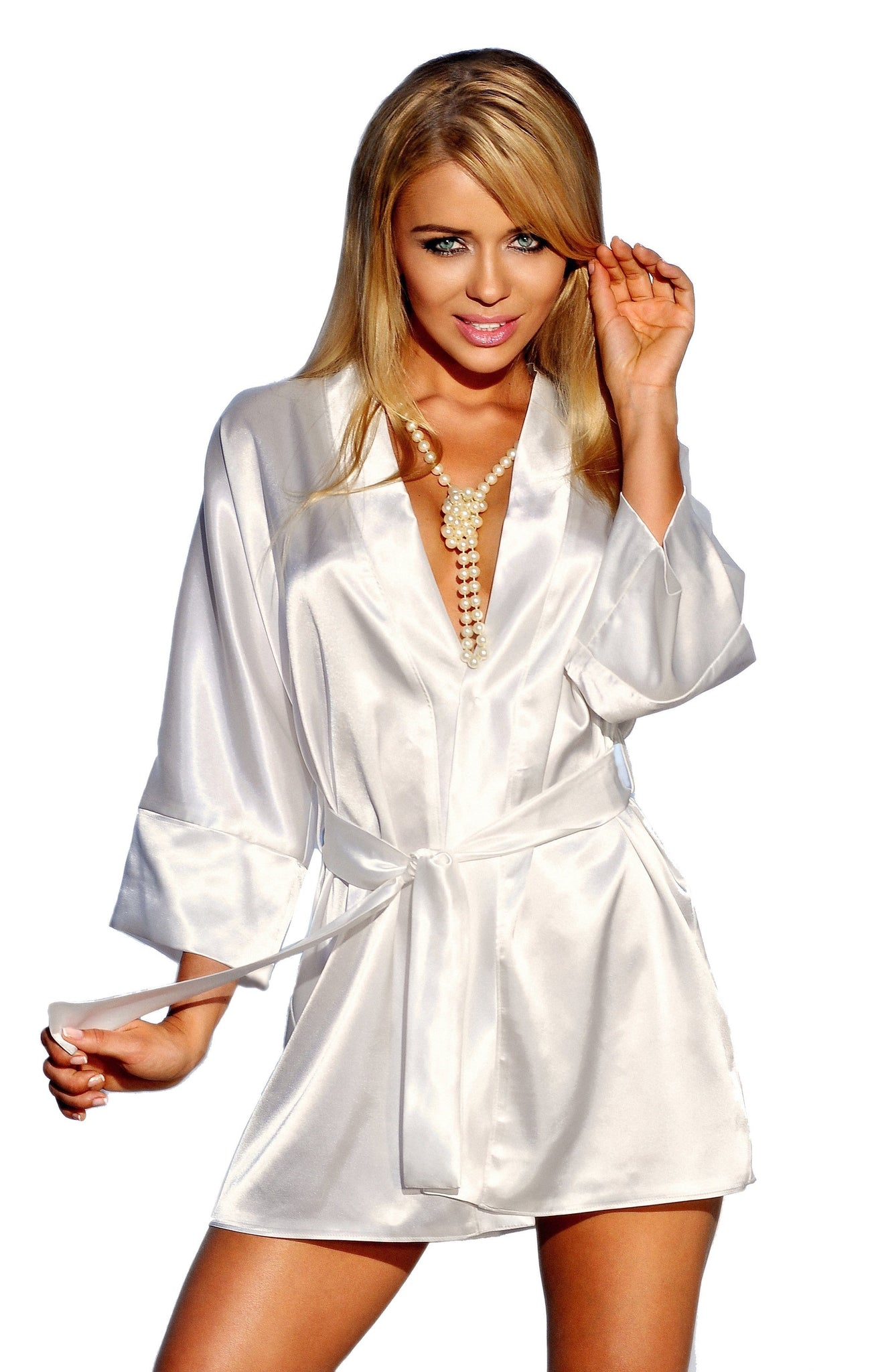 Luxury Satin Dressing Gown