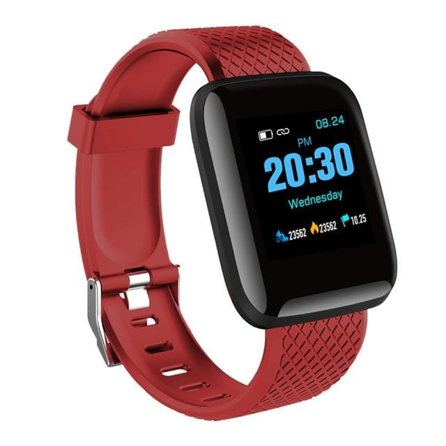 Red  Smart Watch for Men & Women