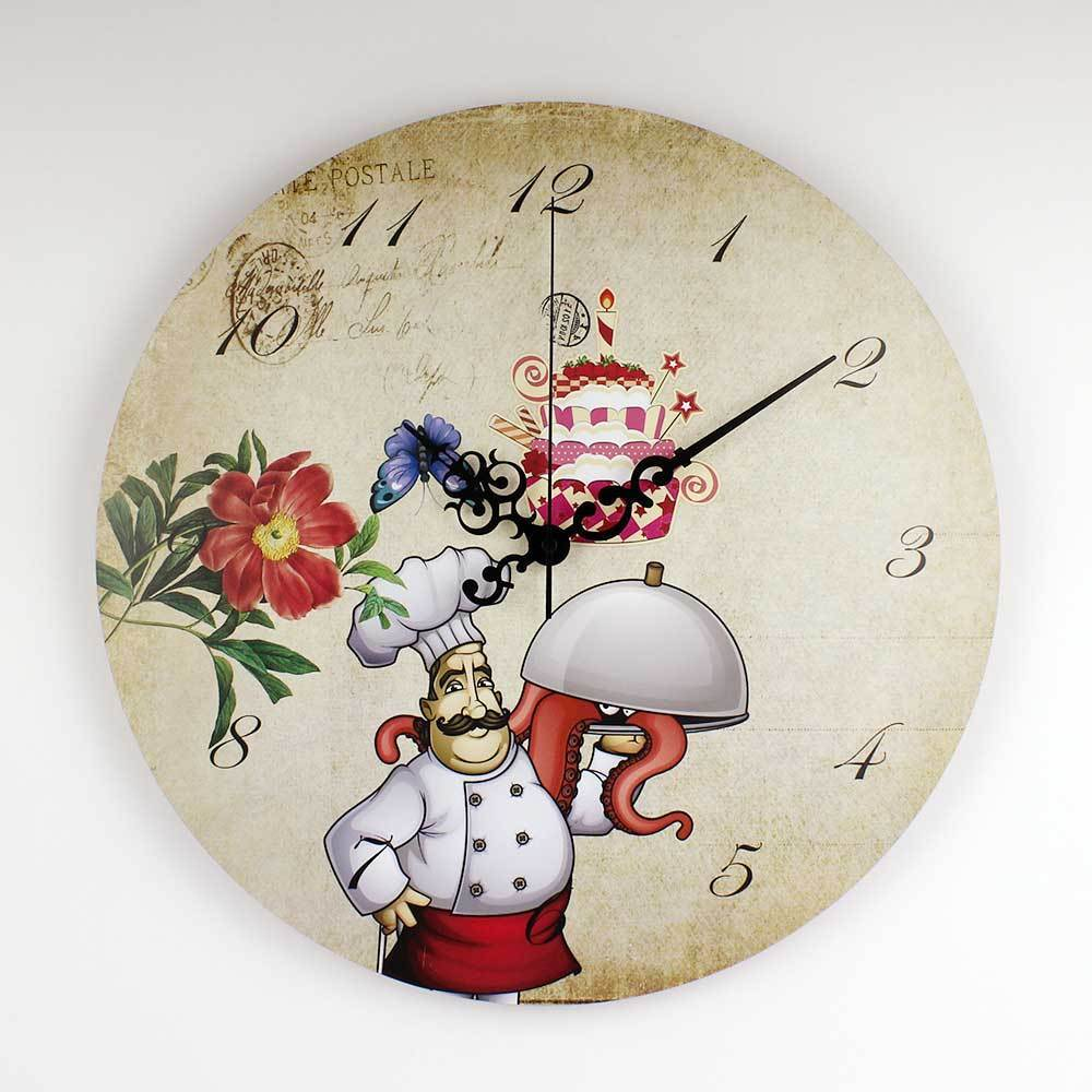Chef kitchen Wall clock