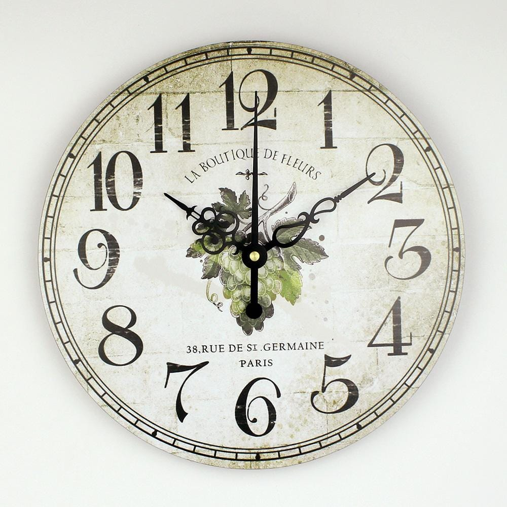 Decorative Wall Clock For Dining Room