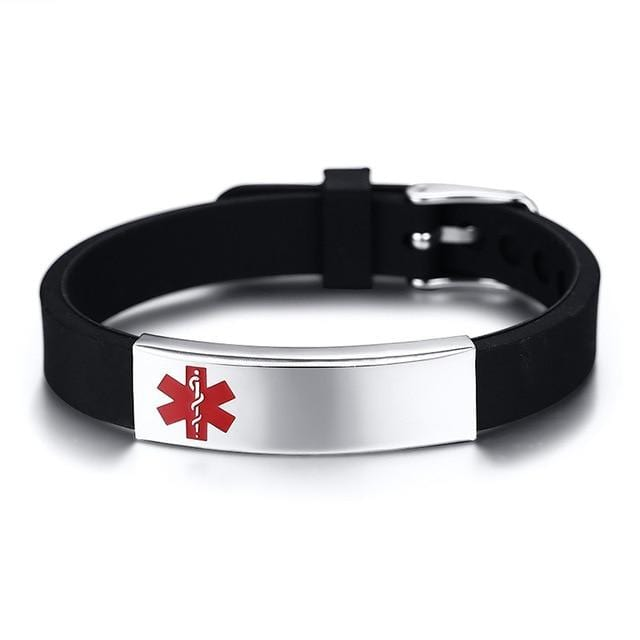 Custom Engraved Medical Alert ID Bracelets