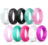 Silicone Rings Womens Set