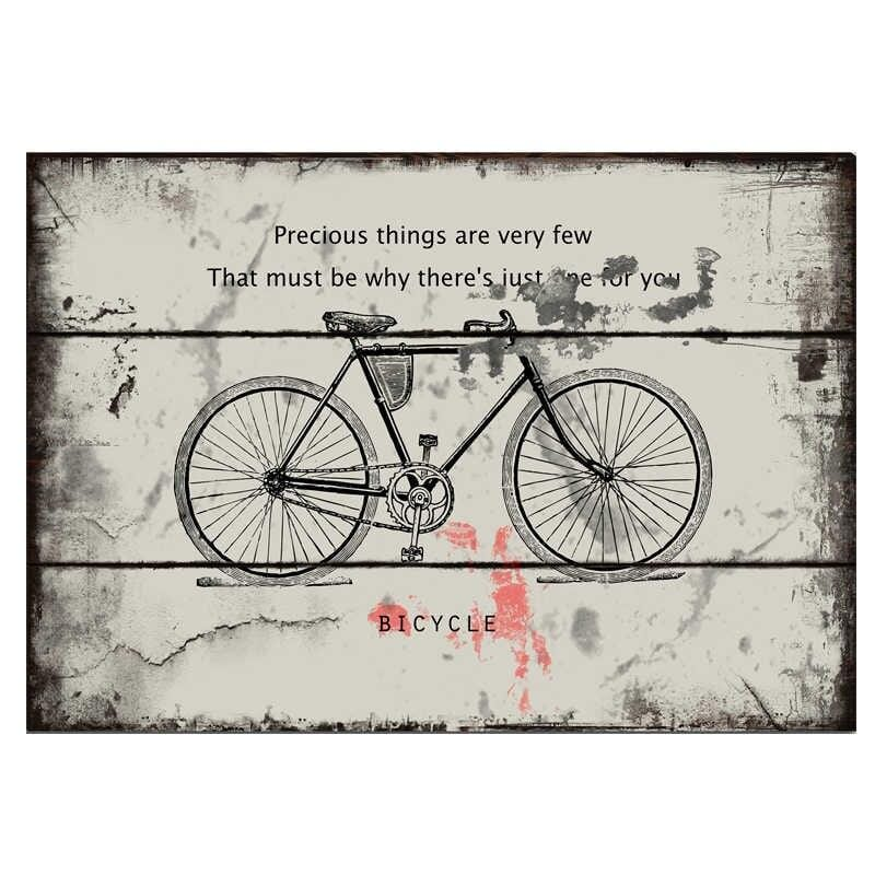 Vintage Bicycle  Metal Poster