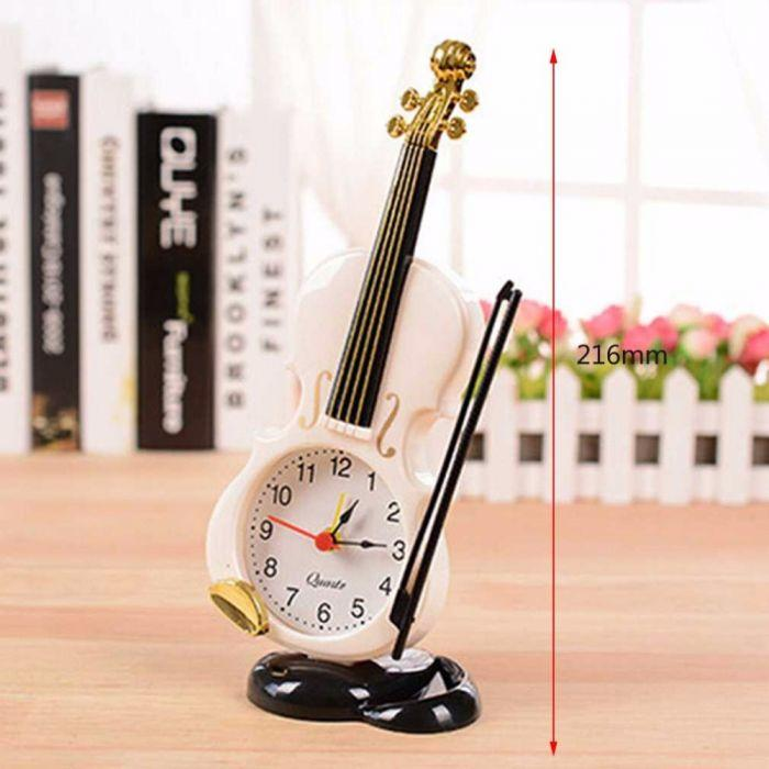 VIOLIN DÉCOR ALARM CLOCK