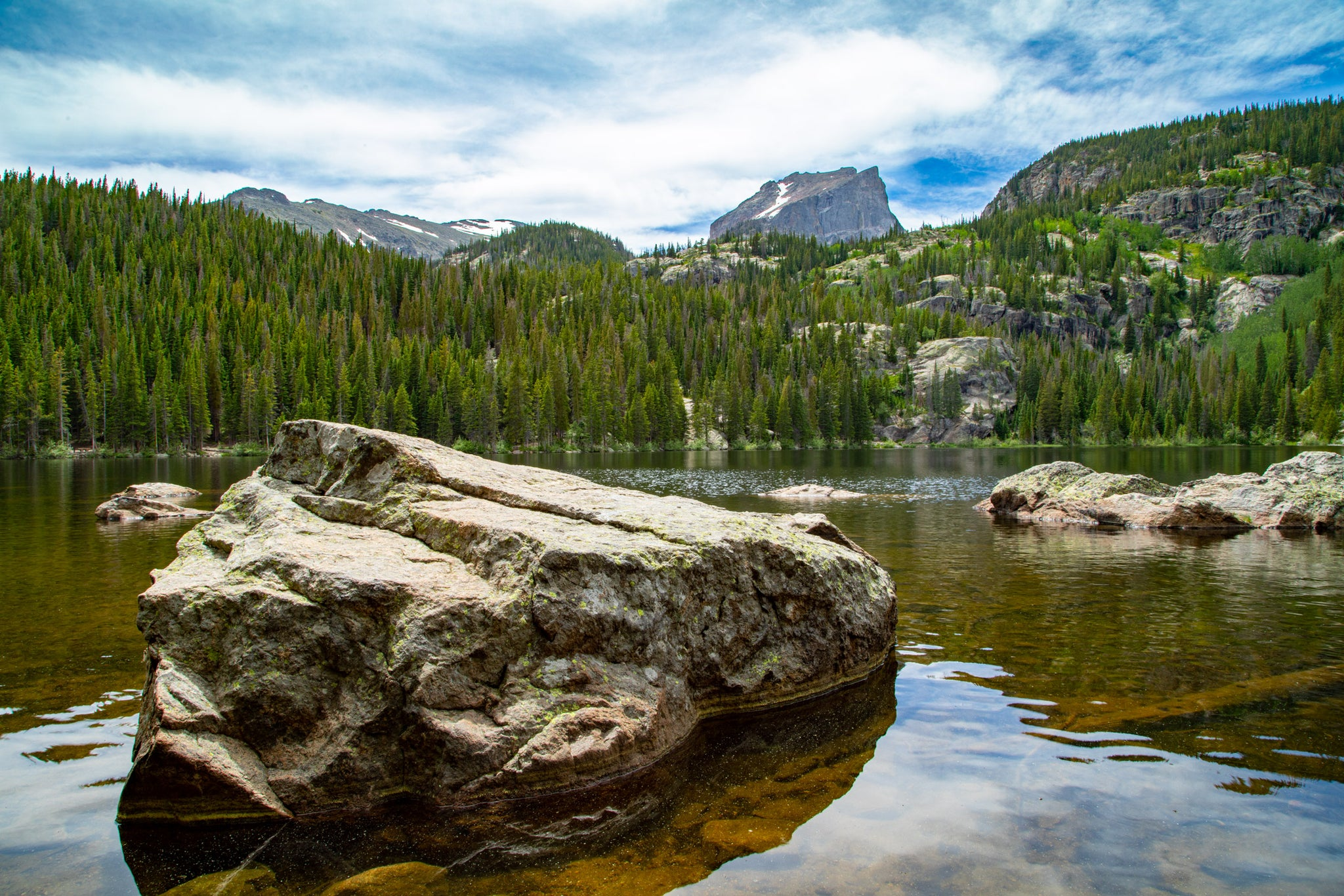 Bear Lake 1 in Rocky Mountain National Park