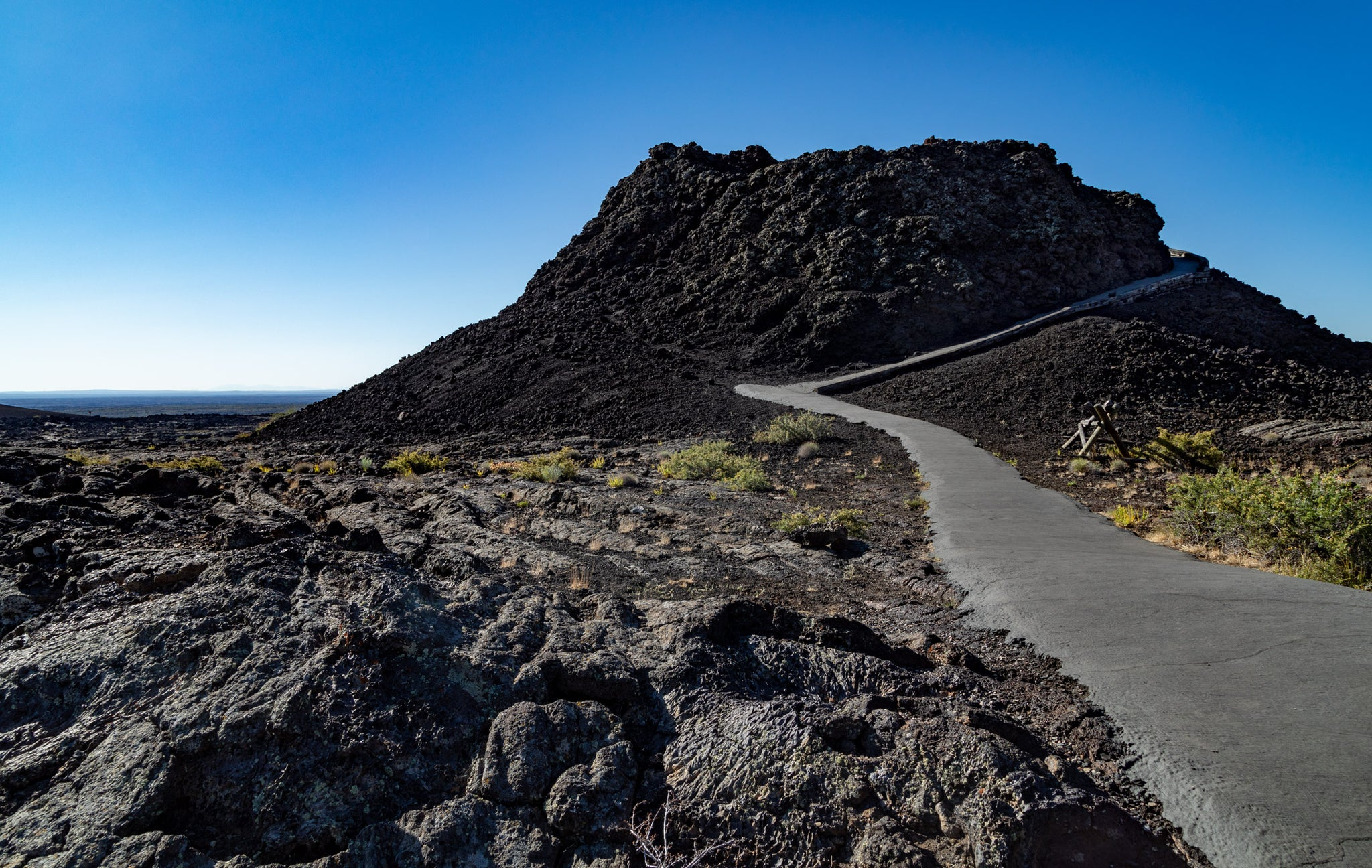 Spatter Cone at Craters of the Moon National Monument