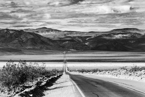 A Death Valley Highway - Near Panamint Springs