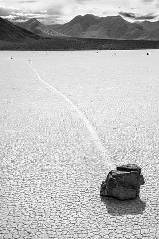 Death Valley Race Track BW
