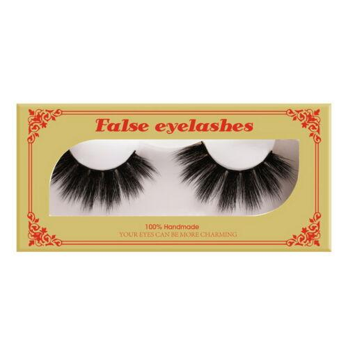 5d Nano Mink False Eyelashes Fake Eyelashes 1 Pair