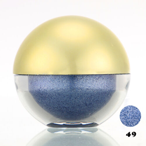 #49 Steelblue Shimmer Pearl Loose Eyeshadow Cosmetic Powder