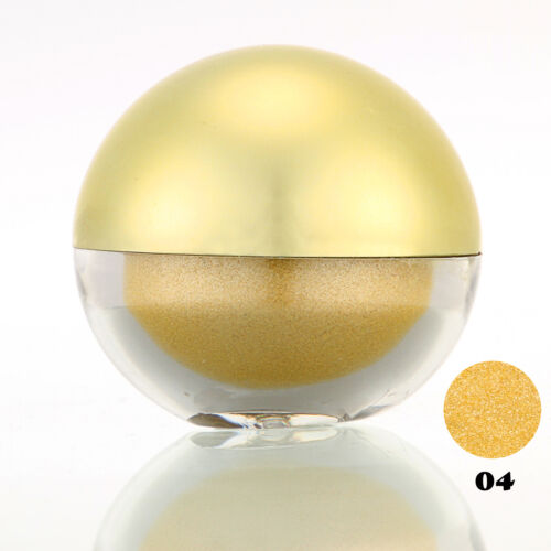#04 Yellow Shimmer Pearl Loose Eyeshadow Cosmetic Powder