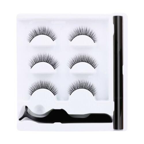 3 in 1 Magnetic Eyeliner with False Eyelashes in Lashes Kit without Glue
