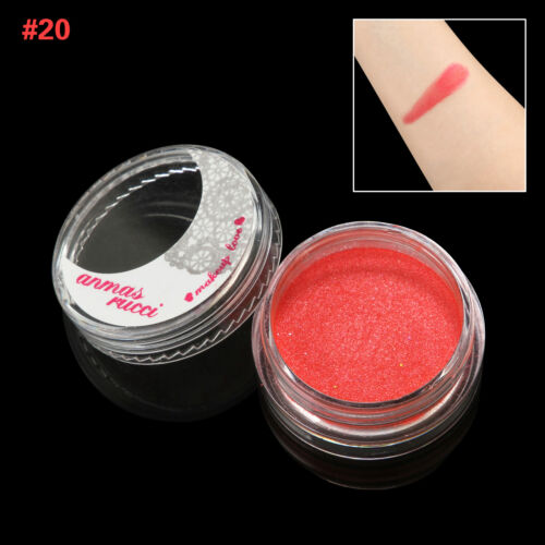 Red Shimmer Loose Makeup Powder Eye Pigment Mineral Eyeshadow#20