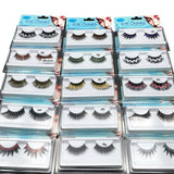 Coloured Long False Eyelashes 1 Pair