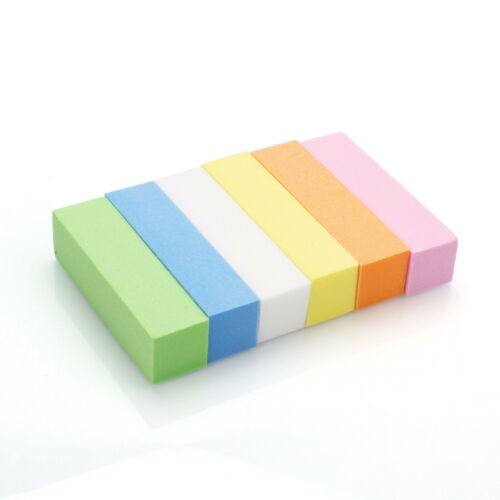 #120 Sponge Nail Buffer Block Soft Durable Manicure 10 PCS