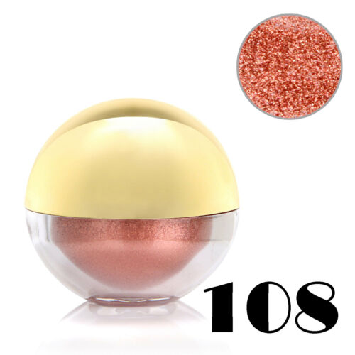 #108 Pink Shimmer Pearl Loose Eyeshadow Cosmetic Powder