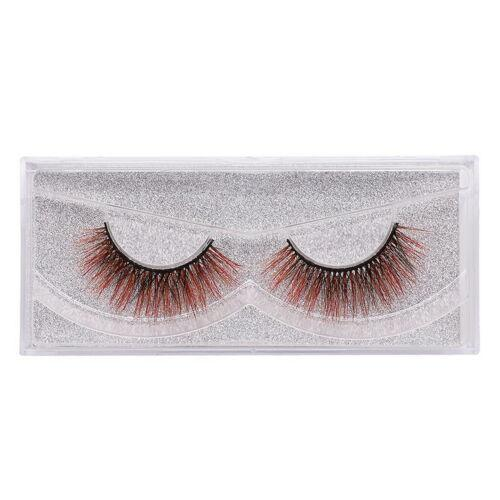 3D Thick Mink Lash False Eyelashes 12 Color 1 Pair