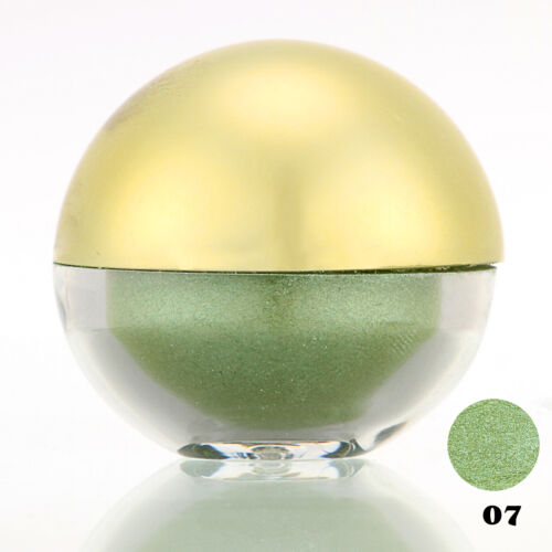 #07 Light Green Shimmer Pearl Loose Eyeshadow Cosmetic Powder