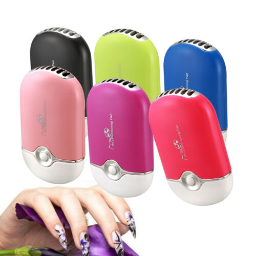 USB Mini Fan Air Conditioning Lashes Dryer Blower For Eyelash Extension 6 Color~