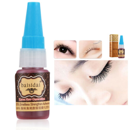 Individual Extension False Eye Lashes Eyelash Smellless Black Glue Adhesive 15ml