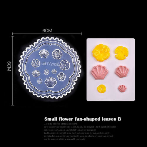 3D Acrylic Powder Template Nail Art Emboss Mold 1PCS