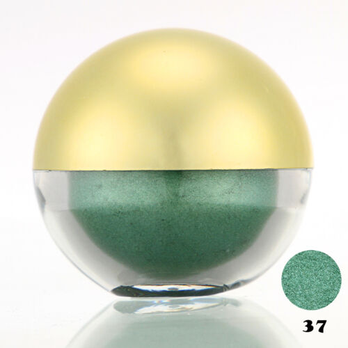 #37 Limegreen Shimmer Pearl Loose Eyeshadow Cosmetic Powder