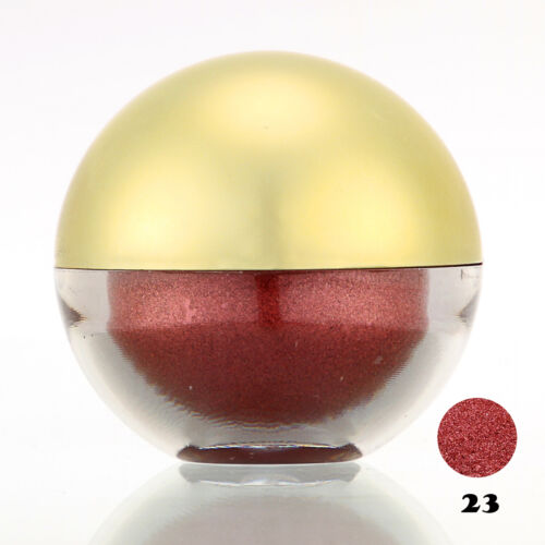 #23 IndianRed Shimmer Pearl Loose Eyeshadow Cosmetic Powder