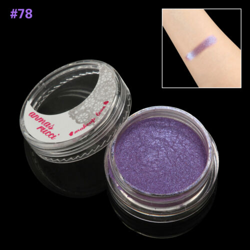 SlateBlue Shimmer Loose Makeup Powder Eye Pigment Mineral Eyeshadow#78