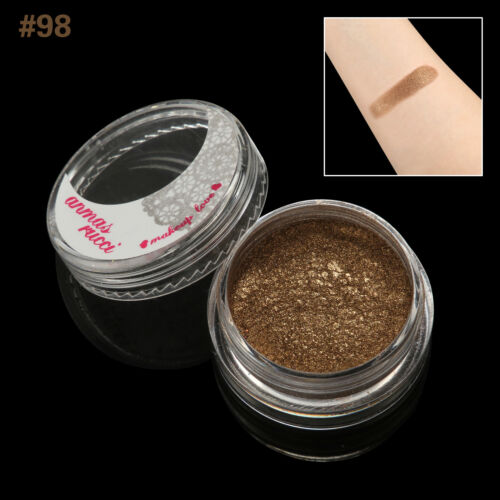 Sienna Shimmer Loose Makeup Powder Eye Pigment Mineral Eyeshadow#98