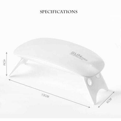 Mini Mouse Shape UV Nail Phototherapy Nail LED Dryer Lump