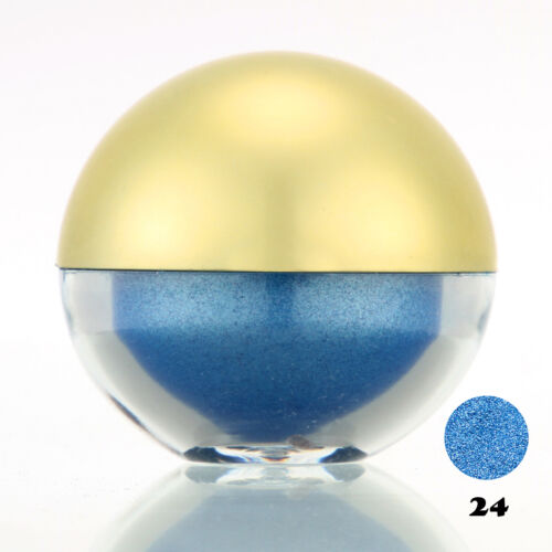 #24 Dodgerblue Shimmer Pearl Loose Eyeshadow Cosmetic Powder