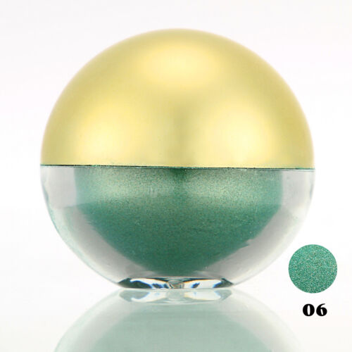 #06 SeaGreen Shimmer Pearl Loose Eyeshadow Cosmetic Powder