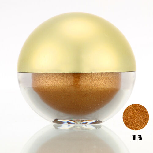 #13 Chocolate Shimmer Pearl Loose Eyeshadow Cosmetic Powder