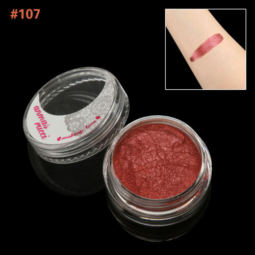 FireBrick Shimmer Loose Makeup Powder Eye Pigment Mineral Eyeshadow#107
