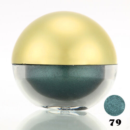 #79 DarkCyan Shimmer Pearl Loose Eyeshadow Cosmetic Powder