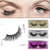 3D Black Thick Mink Hand-made False Eyelashes 1 Pair