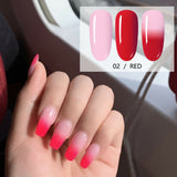 15ml Red Thermal Color Changing Nail Extension Builder Gel