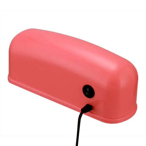 110V 9W Pro Pink/White LED UV Nail Dryer