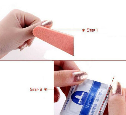 UV Gel Nail Polish Remover Wraps Pad Contains 200PCS