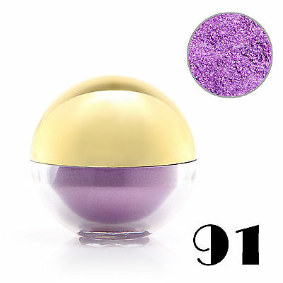 #91 Purple Shimmer Pearl Loose Eyeshadow Cosmetic Powder