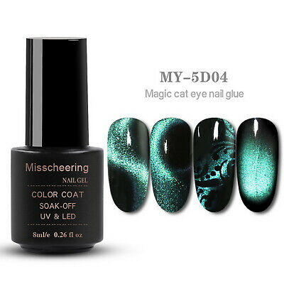5D Cat Eye Magnetic Soak Off UV Gel Polish #4
