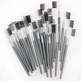 1 5 10 PCS Eyebrow Comb Eyelash Brush Makeup Eyelash Extension Grooming Tool