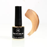 0.25fl.oz Gold Soak Off Nail Color Gel Polish