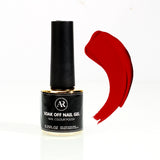 0.25fl.oz Red Soak Off Nail Color Gel Polish