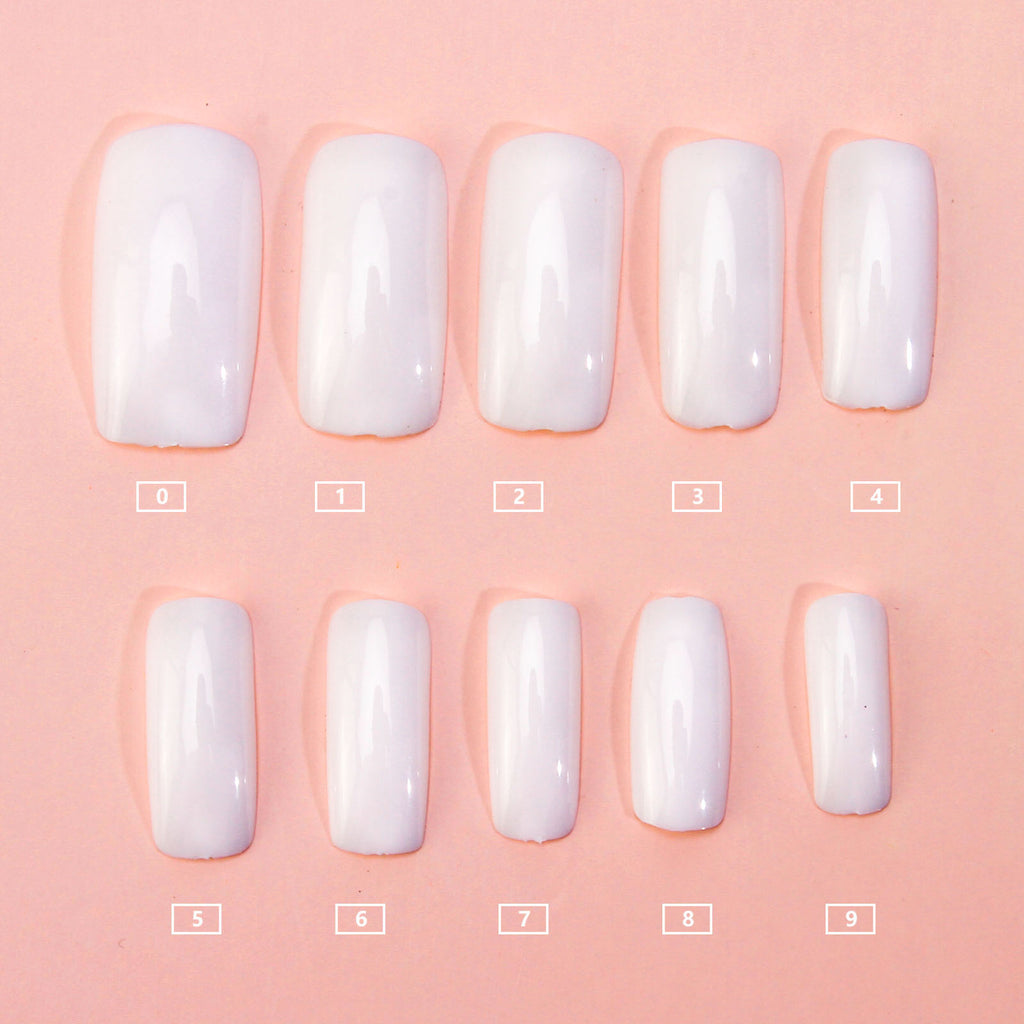 Full Cover Acrylic UV Gel Nail Art Tips Package 500pcs