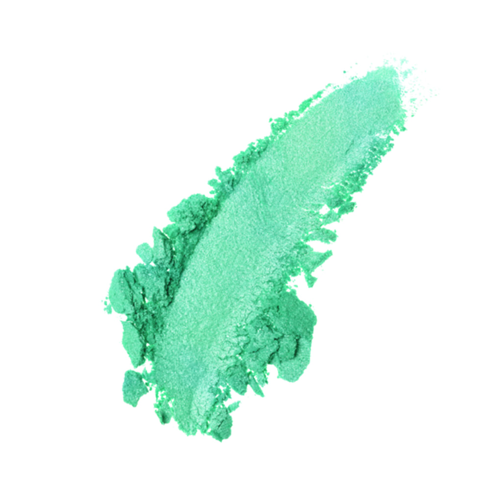 Green Shimmer Loose Makeup Powder Eye Pigment Mineral Eyeshadow#6